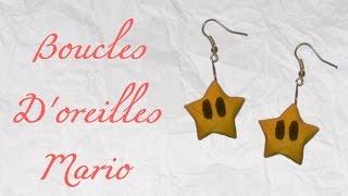 Origami ! Boucles D'oreilles Mario - Earrings Mario Stars [ Hd ]