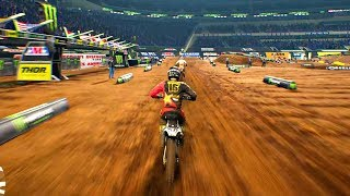Monster Energy Supercross - Gameplay First Look! (1080P/60FPS)