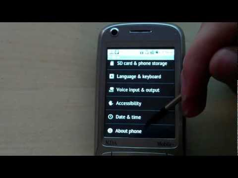 HTC Hacks: Android 2.2.2 on the HTC Tytn II (Kaiser)