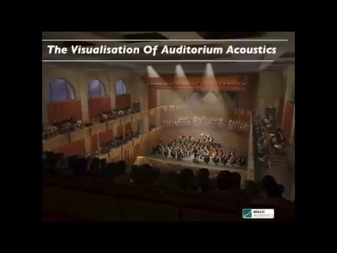 Visualisation of Auditorium Acoustics - Acoustics in Architecture