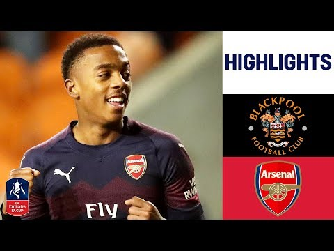 Teen Willock Doubles up to See Gunners Through | Blackpool 0-3 Arsenal | Emirates FA Cup