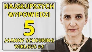 5 najgłupszych wypowiedzi Joanny Scheuring – Wielgus #3