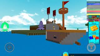 What's with the boat?????? Build to boat for tresor ROBLOX