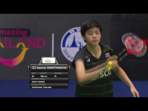 Princess Sirivannavari Thailand Masters 2017   Badminton F M1-WD   Chen/Jia vs Sup/Tae
