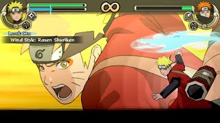 Naruto Shippuden Ultimate Ninja Impact Walkthrough Part 39 Sage Naruto vs Tendo Pain (60 FPS)