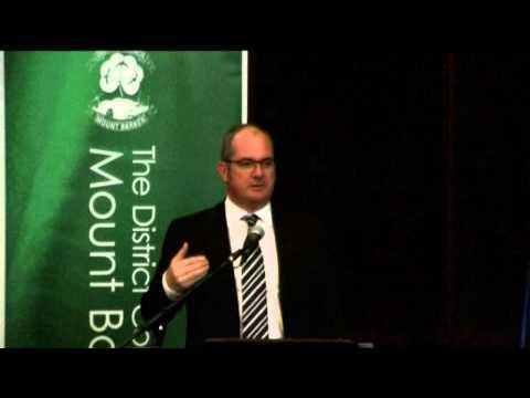 Leon Bignell Minister for Tourism