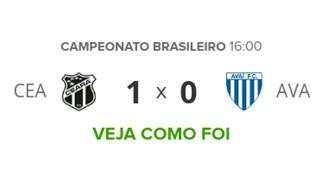 Ceara 1 x 0 Avaí - VOZÃO FORA DO Z-4 ! Melhores Momentos (COMPLETO) - Brasileirão 2019 | Futebol
