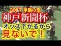 【競馬予想】G2神戸新聞杯2017 2週連続的中や! この動画見つけた人おめでとう 穴馬 …