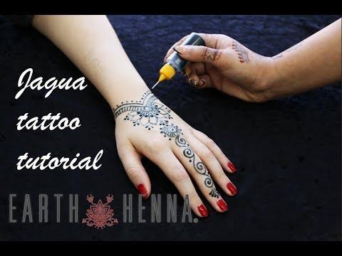 bb7bc6eff Earth Jagua by Earth Henna (Tattoo Tutorial) - YouTube