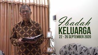 Ibadah Keluarga (Patuwen) 24 September 2020