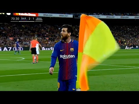 Lionel Messi  Top 10 Iconic Performances in 2018  With Commentaries