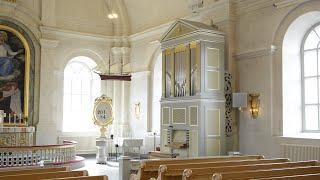 Johann Sebastian Bach. Wachet auf, ruft uns die Stimme, BWV 645 på kororgeln i Arnäs kyrka
