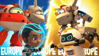 [Superwings s3 country episodes] Europe 3