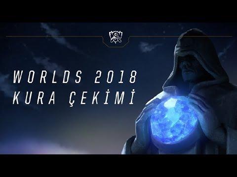 Worlds 2018 - Kura Çekimi