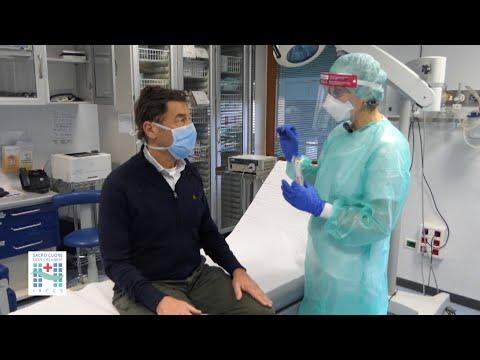 Ecco come si esegue il tampone per la diagnosi del nuovo coronavirus