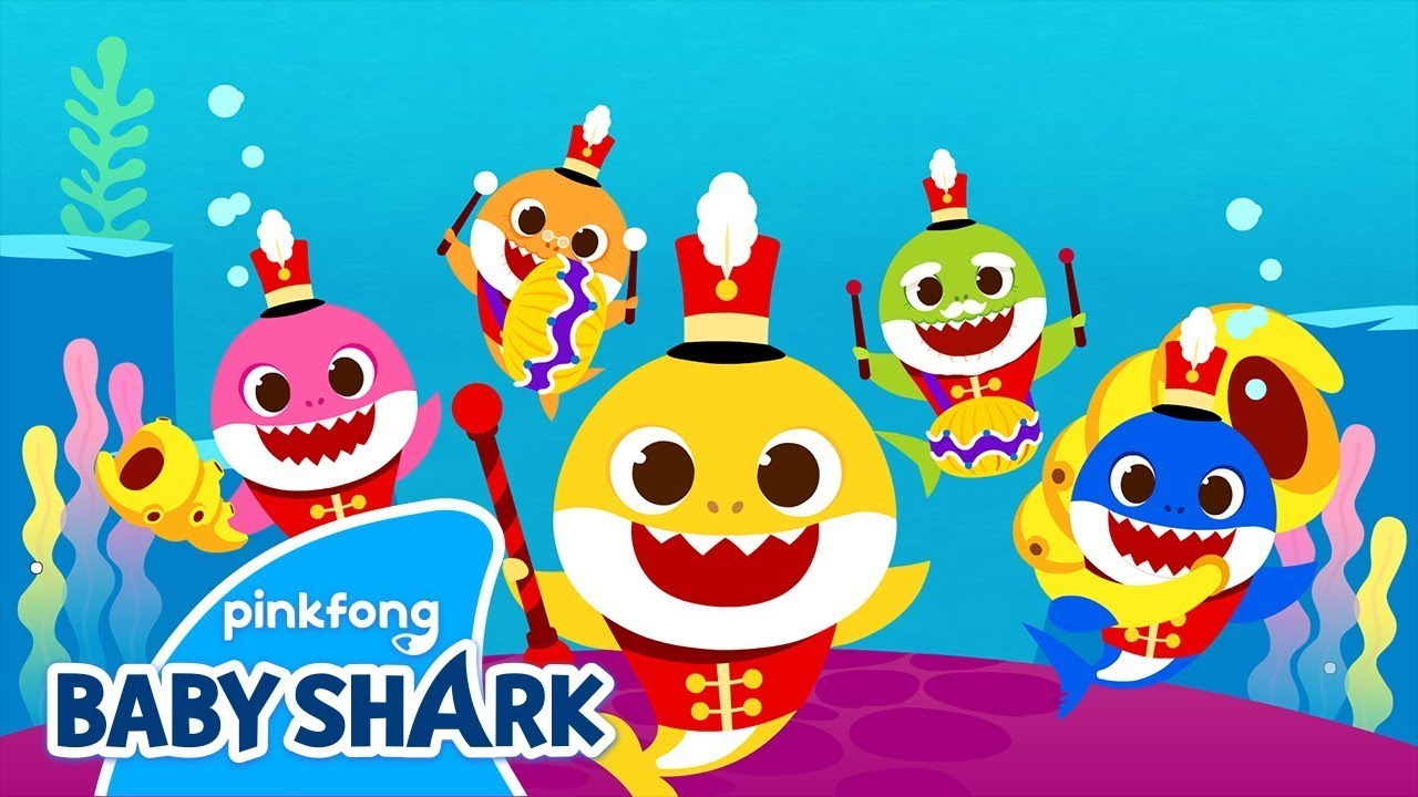 Ocean Parade | Baby Shark Dance and Song | Baby Shark Sing Along | Baby Shark Remix