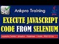 Selenium with Java 51 - Execute JavaScript code from Selenium | How to use JavaScriptExecutor?