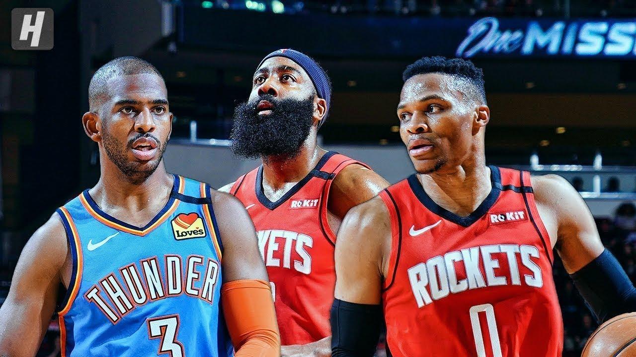 Houston Rockets vs Oklahoma City Thunder - Full Game ... Rockets Vs Thunder