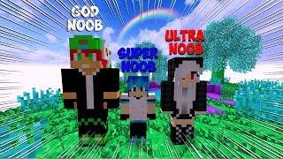 DESAFIO ULTRA NOOB VS MASTER NOOB VS GOD NOOB NO MINECRAFT LENDA SOBRENATURAL Ep 85
