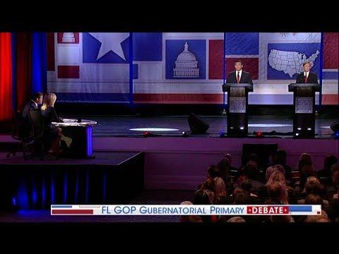 Ron DeSantis, Mike Putnam Florida Gov Debate Highlight