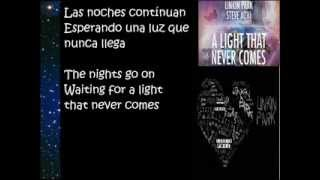 Linkin Park- A Light That Never Comes lyrics (español English)