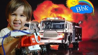 Огляд іграшок. Що зробити, щоб побудувати пожежну машину?