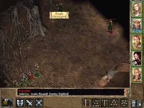 Let's Play Baldur's Gate 2 144 Officer Dirth and the Pirates