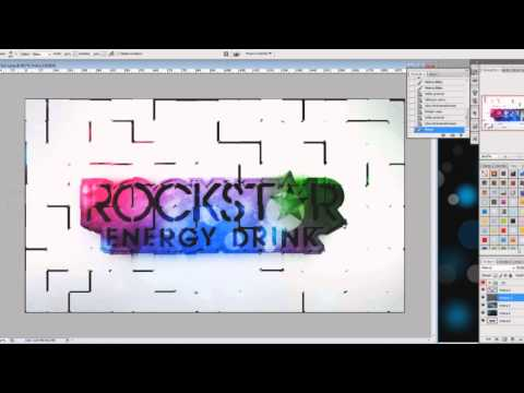Speed Art #10 - Rockstar Energy Drink - Desktop Wallpaper - by MettakDesigns