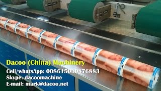 Toilet Tissue Paper Roll Wrapper Packing Machines Wrapping Jumbo Rolls by PE Film ( TZ-A-730 )
