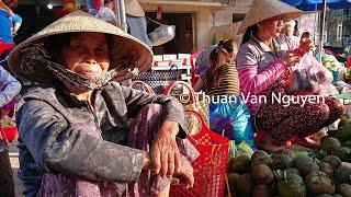 Vietnam || Cai Ngang Rural Market || Vinh Long Province