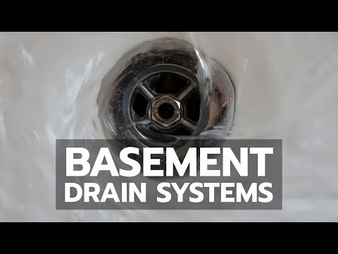 Basement Drain Systems