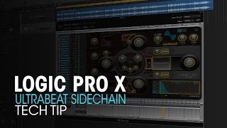 Sweet Tip using Ultrabeat's Sidechain input as a gate.