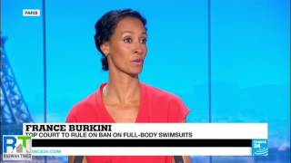 France 24: Ahmadiyya Muslim Asif Arif reacts to the Burkini Ban