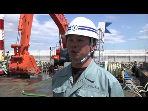 【日立建機日本】ZX650LCH-3バックホウ船 東華建設株式会社殿