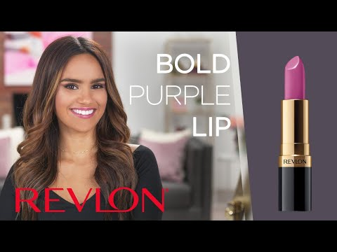 Bold Purple Lip - A New Orleans Inspired Look For a Night Out Feat. Dacey Cash | Revlon