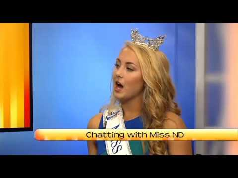 North Dakota Today: Chatting With Miss North Dakota