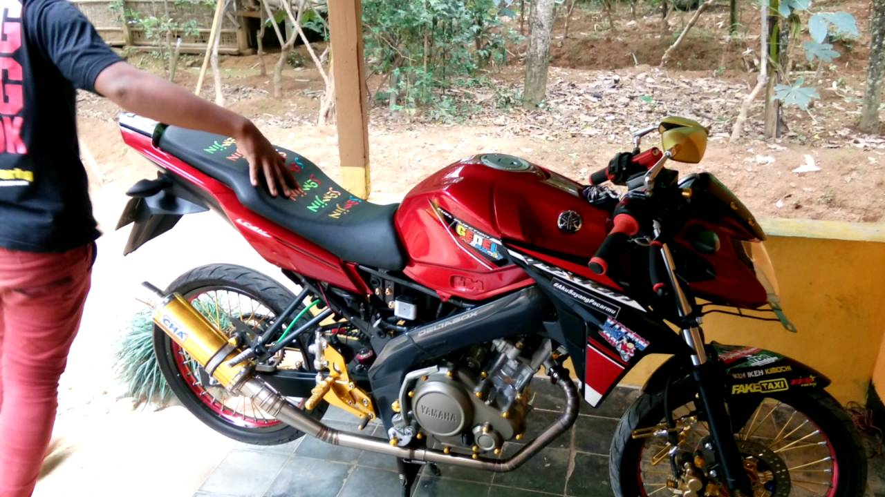 Hits Modifikasi Motor Vixion Advance Warna Merah 2019 2020
