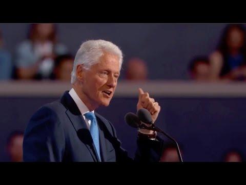 Bill Clinton offers loving tribute to Hillary at DNC 2016 (Full speech)