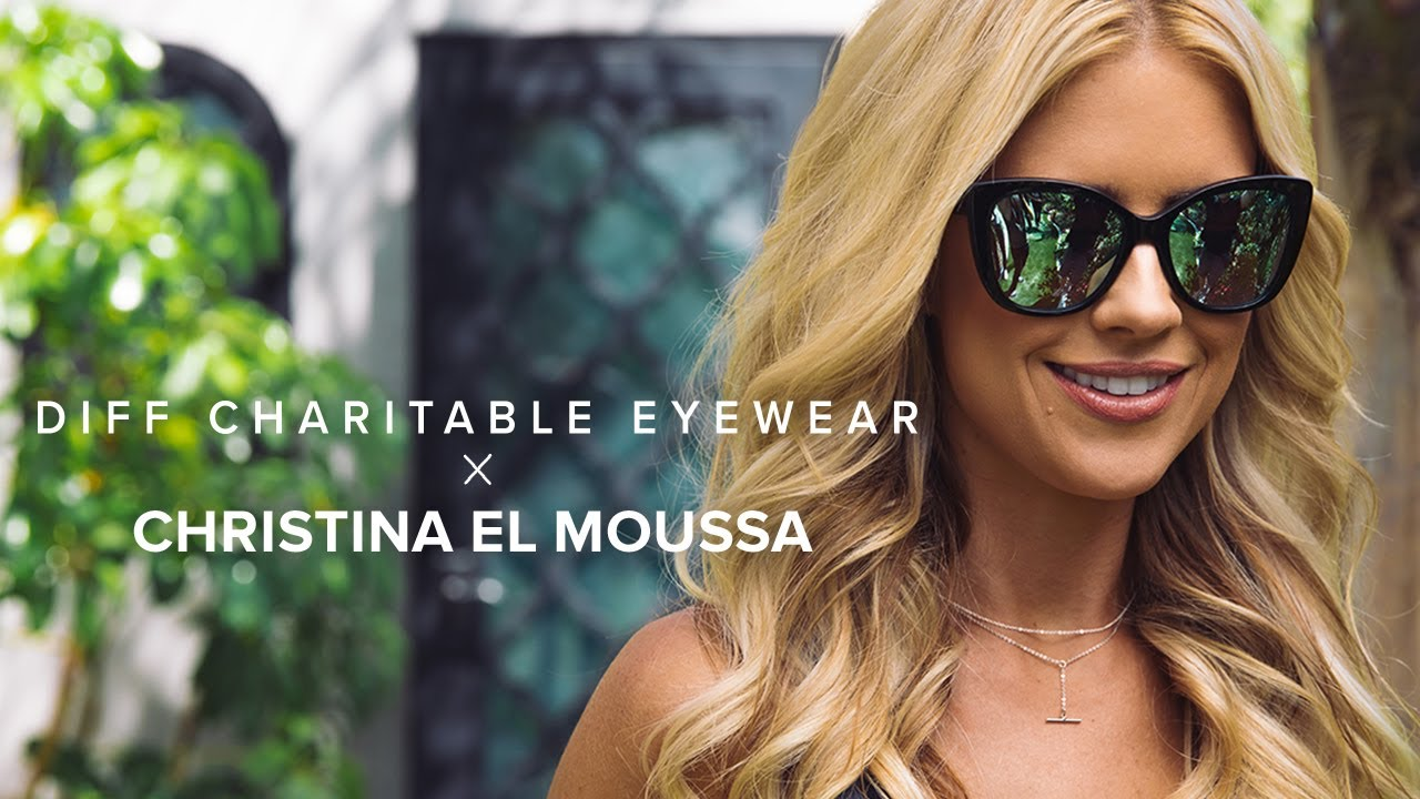 79fdb50f9e1 DIFF EYEWEAR x CHRISTINA EL MOUSSA - EXCLUSIVE COLLABORATION - YouTube