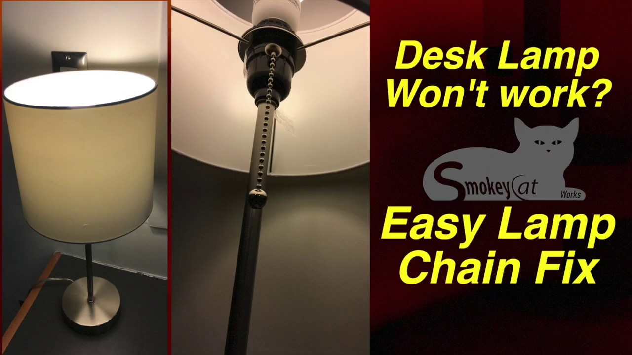 lamp chain fix - How To Fix A Lamp