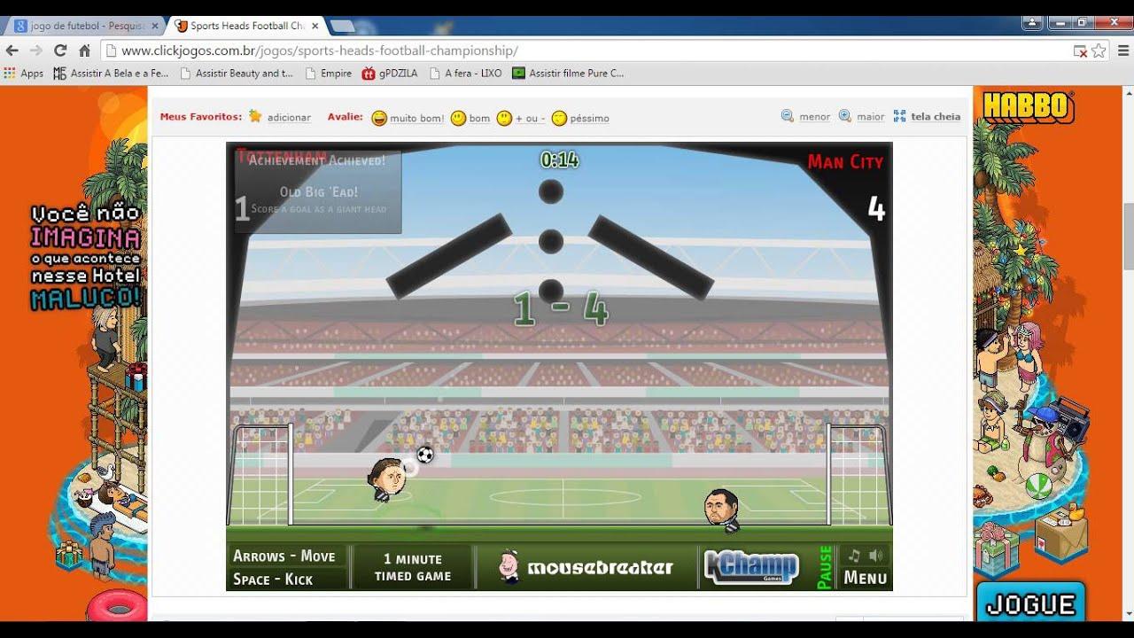 futebol no click jogos   1 - YouTube b76d0840d3334