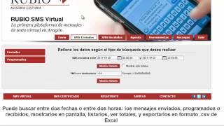 RUBIO SMS VIRTUAL (demo)