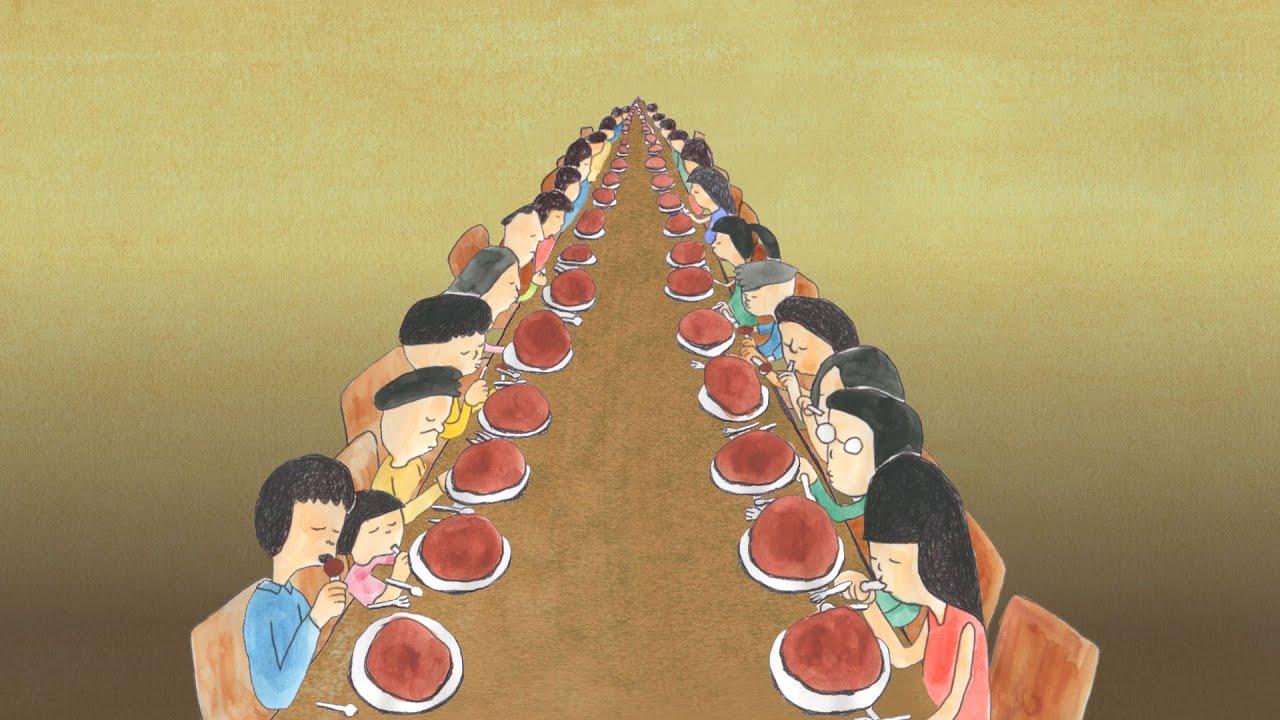 食べる人たち / People who are eating