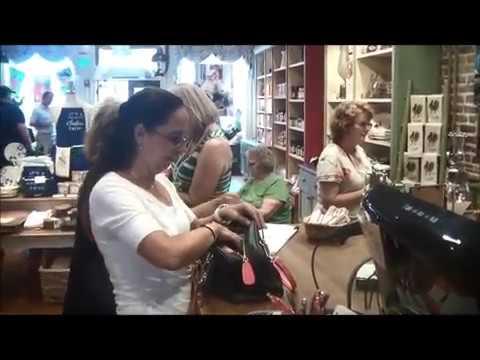 Paula Dean Video Of Her Store And Restaurant In Savannah, Georgia.