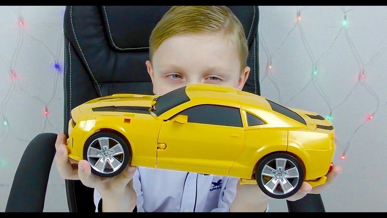 Трансформеры Автоботы БАМБЛБИ Машинки Игрушки  из Мультика для Мальчиков Cartoons for children Trans