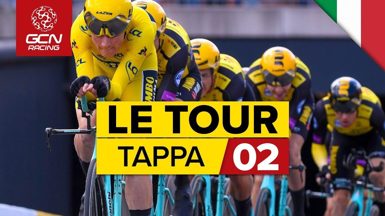 Tour de France 2019, 2° tappa: Cronometro a squadre a Bruxelles