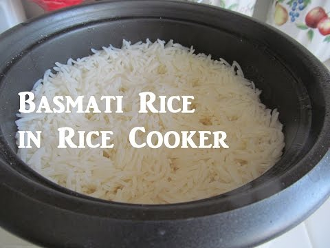 How to Cook Basmati Rice / Rice Cooker Recipes / الرز البسمتي بقدر الرز الكهربائي / Recipe#165