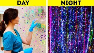 DAY VS NIGHT || STUNNING DIY IDEAS