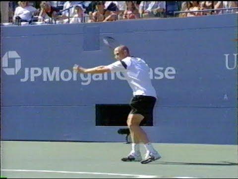 Meyer vs Agassi US Open 2004