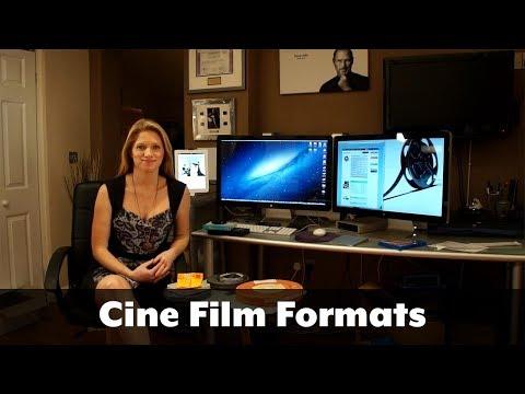 Cine Film formats